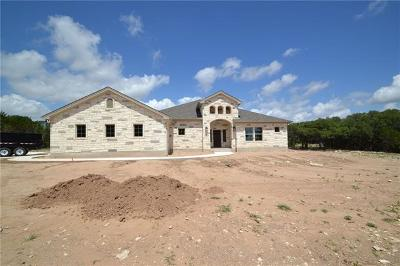 Burnet Single Family Home For Sale: 404 First Down Dash