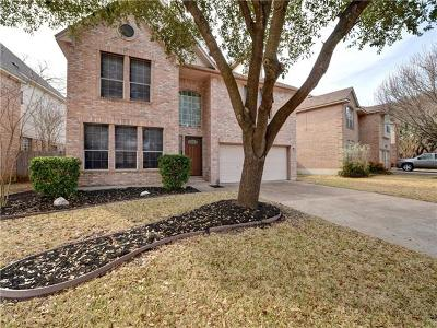 Round Rock Single Family Home For Sale: 1010 Oaklands Dr