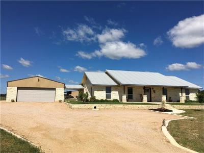 Burnet County Single Family Home For Sale: 400 Windmill