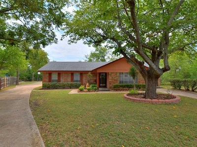 Cedar Park Single Family Home For Sale: 1400 Oak Grove Dr
