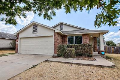 Leander Single Family Home For Sale: 1005 Burgess Dr