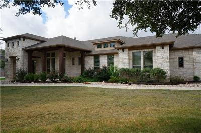 Leander Single Family Home For Sale: 3200 Vista Heights Dr