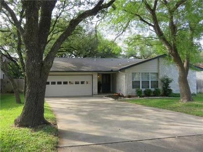 Travis County, Williamson County Single Family Home Pending - Taking Backups: 11215 Windermere Mdws