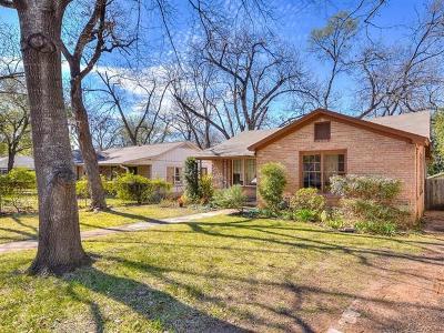 Austin Single Family Home Pending - Taking Backups: 4602 Speedway St