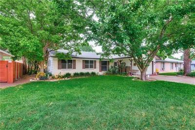 Travis County Single Family Home Pending - Taking Backups: 7606 Northcrest Blvd