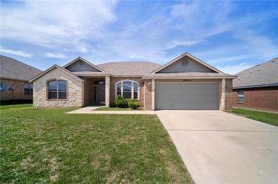 Killeen TX Single Family Home For Sale: $171,500