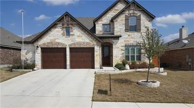 Round Rock Single Family Home For Sale: 5687 Corsica Loop