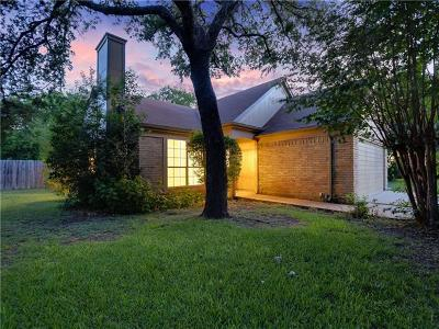 Leander Single Family Home Pending - Taking Backups: 2507 Phillip Cv