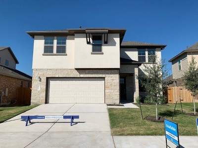 Hutto Single Family Home For Sale: 305 Simmental Loop