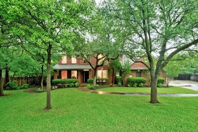 Round Rock Single Family Home Pending - Taking Backups: 9002 Sunburst Ter