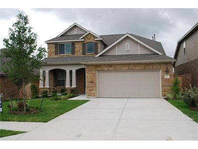Round Rock Single Family Home For Sale: 1705 Hidden Springs Path