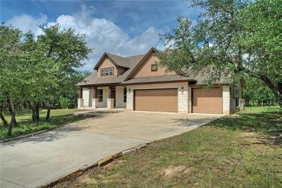Spicewood Single Family Home For Sale: 3830 Verde Knoll Dr