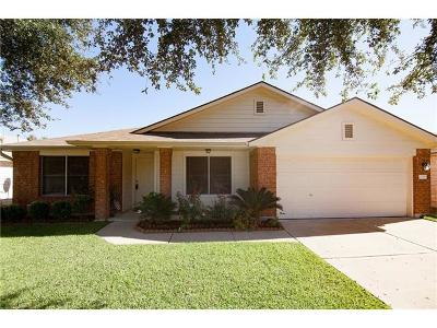 Round Rock Single Family Home For Sale: 2078 Buckley Ln