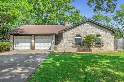 Travis County Single Family Home For Sale: 10306 Stubble Quail Dr