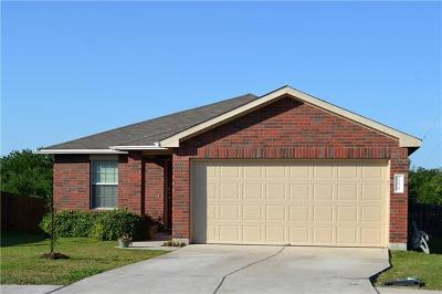 Pflugerville Single Family Home Pending - Taking Backups: 13629 Coomer Path
