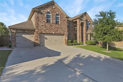 Round Rock Single Family Home For Sale: 3324 Cortes Pl