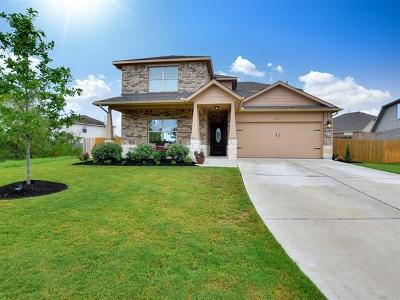 Leander Single Family Home For Sale: 1021 Canvasback Creek Dr