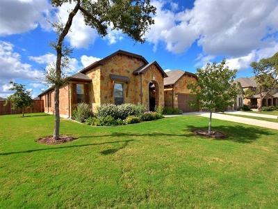 Leander Single Family Home For Sale: 1621 Carmine Dr