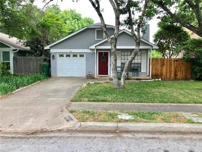 Travis County Single Family Home Pending - Taking Backups: 14415 Tiffer Ln