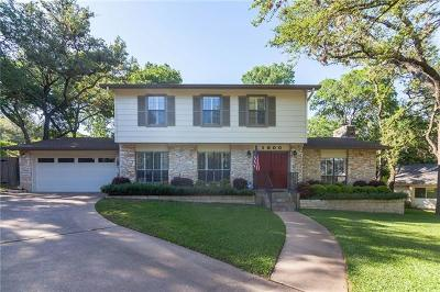 Austin Single Family Home Coming Soon: 1800 Stone Ridge Cir