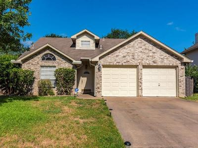 Round Rock Single Family Home For Sale: 2310 Willow Way