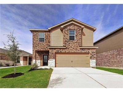 Manor Single Family Home For Sale: 13304 William McKinley Way