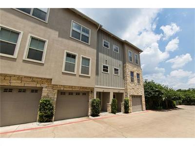 Austin Condo/Townhouse For Sale: 2520 Bluebonnet Ln #61