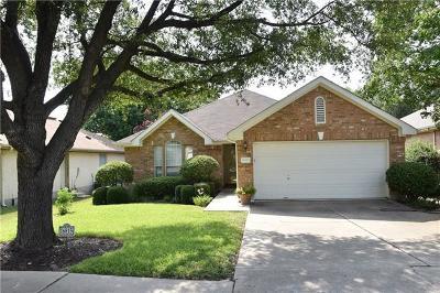 Round Rock Single Family Home Pending - Taking Backups: 16815 E Dorman Dr