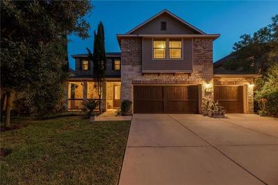 Travis County Single Family Home Pending - Taking Backups: 317 Island Oak Dr