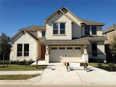 Leander Single Family Home For Sale: 1205 Deering Creek Dr