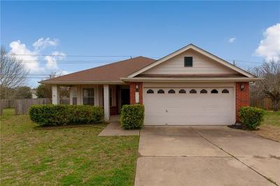 Pflugerville Single Family Home For Sale: 17700 Cormac Ct