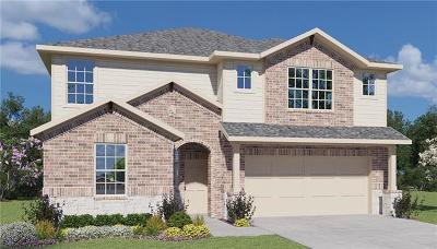 Round Rock Single Family Home For Sale: 151 Glenn Dr