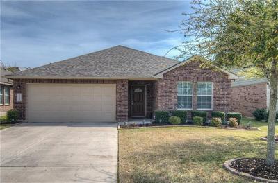 Leander Single Family Home For Sale: 2108 Granite Springs Rd