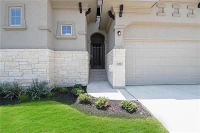 Hutto Single Family Home For Sale: 121 Greenock Cv