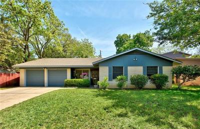 Austin Single Family Home For Sale: 1602 Sunnyvale St