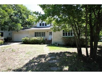 Travis County, Williamson County Single Family Home Pending - Taking Backups: 4001 Brookview Rd