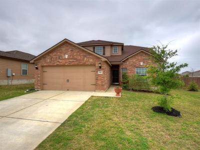 Williamson County Single Family Home Pending - Taking Backups: 500 Sapphire Ln