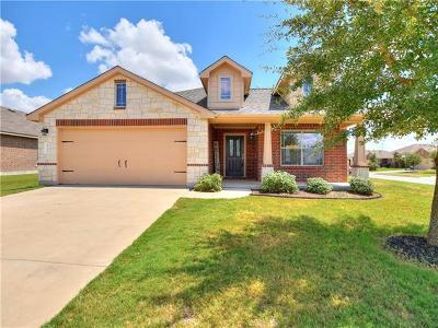 Pflugerville Single Family Home For Sale: 20201 Merlin Falcon Trl