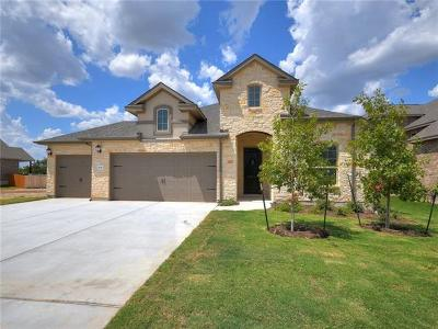 Leander Single Family Home For Sale: 409 Middle Brook Dr