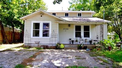 Single Family Home For Sale: 3108 Govalle Ave