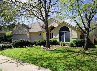Pflugerville Single Family Home For Sale: 1609 Glen Rose Chase
