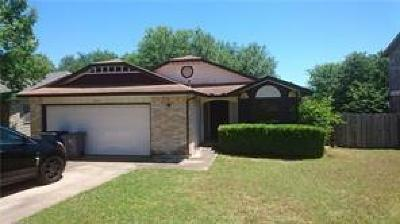 Austin Single Family Home For Sale: 11407 Hidden Quail Dr