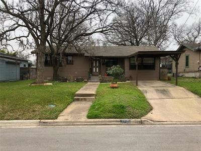 Austin Single Family Home Pending - Taking Backups: 1913 Pequeno St