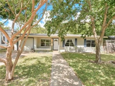 Austin Single Family Home For Sale: 1300 Dwyce Dr