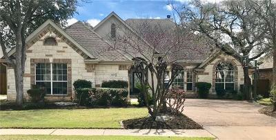 Round Rock Single Family Home Pending - Taking Backups: 1129 Castle Path