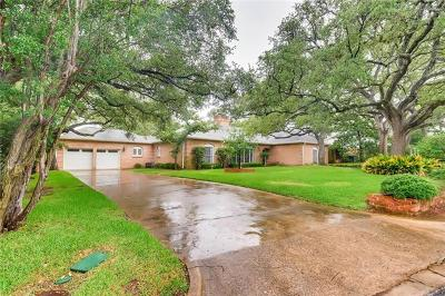 Travis County Single Family Home Active Contingent: 5409 Highland Crest Dr