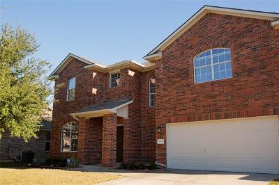 Pflugerville Single Family Home For Sale: 18505 Deep Water Dr