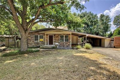 Austin Single Family Home For Sale: 2503 Twin Oaks Dr