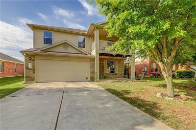 Hutto Single Family Home For Sale: 412 Mossy Rock Dr