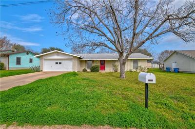 Marble Falls Single Family Home For Sale: 1209 Ash Dr